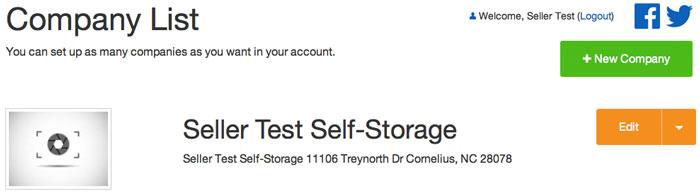 Online Storage Auction Management